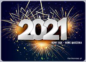 Życzenia Nowego Roku 2021